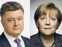 Merkel tells Poroshenko to engage in dialogue about situation in Kerch Strait