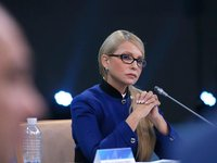 Tymoshenko congratulates Filaret on his 90th birthday anniversary