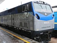 First General Electric Trident locomotive arrives to Ukraine - Ukrzaliznytsia