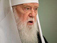 Patriarch Filaret to respond UOC-KP episcopate's proposal to elect him as head of Ukrainian Orthodox Church at unification assembly