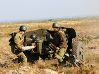 Azov fighters killed and wounded amid night attacks of Russia-led forces in Donetsk region