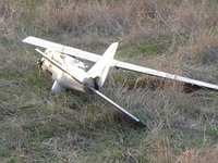 Ukrainian military capture Russian drone in Donbas