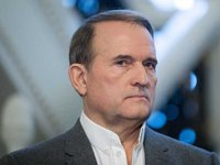 Medvedchuk meets with Medvedev, refuses to comment on possible meeting with Putin