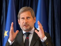 European Commissioner Hahn notes Ukraine's success in implementing some reforms, but also setback in some spheres
