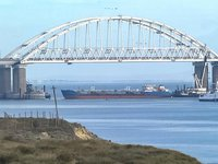 Mariupol port loses 33% of fleet due to construction of Kerch Bridge – Ministry of occupied areas