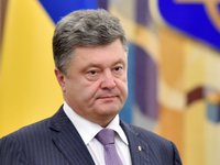 Poroshenko: descendants of victors over Nazism now defending freedom, civilized choice of Ukrainian people against Russian aggression