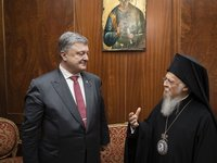 President presents high state award to Ecumenical Patriarch Bartholomew