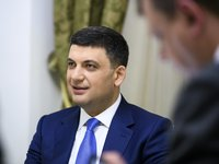 Groysman: I will seek prime minister's seat if his Ukrainian Strategy elected to parliament