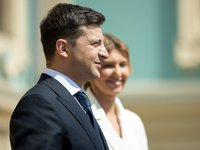 President of Ukraine, first lady present world leaders with vyshyvankas