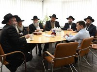 Zelensky asks Rabbis to support his initiative on dialogue with residents of Russia-occupied Donbas, Crimea