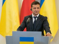 Zelensky announces intention to hold local elections in Donbas in Oct only by Ukrainian laws