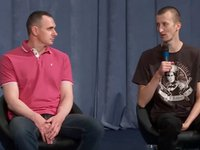 "Sentsov undecided about political life, plans to ""make films and live"""