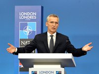 NATO allies express strong support to Ukraine's territorial integrity, to its sovereignty