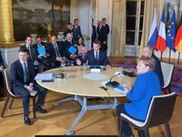 Zelensky, Putin note importance of successful implementation of Paris agreements for next Normandy format summit in Berlin