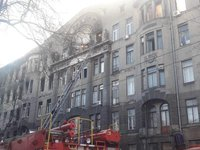 Search operation amid debris of Odesa College completed, death toll of fire victims totals 16 people– Odesa deputy mayor