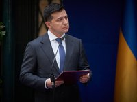 Zelensky: Only Russia can withdraw troops from occupied territory of Donbas