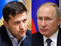 Zelensky, Putin discuss law on special procedure for local self-government in ORDLO, decentralization law amending Ukraine's Constitution