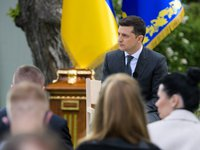 There's no language issue on agenda in Ukraine – Zelensky