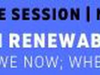 "Free online session ""Ukrainian renewable energy crisis: Where are we now; where do we need to be?"""
