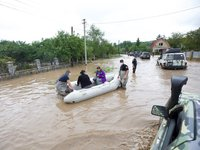 Aid from Italy to help flood victims arrives in Ukraine