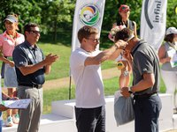 Young golfers have become the winners in the Ukrainian Golf Championship