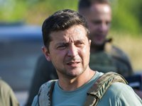 Zelensky asks MPs to rule out participation in creation, activities of CIS Anti-Terrorist Centre