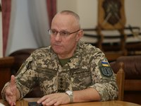 Khomchak, Peach discuss further development of military cooperation between Ukraine, NATO