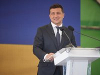 Zelensky believes it is too early to discuss shifting TCG meetings from Minsk, necessary to wait until situation in Belarus develops