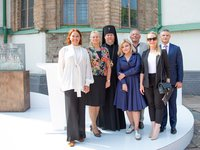Interchem, Darnitsa pharma companies implement project to drain walls, foundation of Saint Sophia's Cathedral in Kyiv