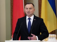 Polish President Duda congratulates Ukrainian President Poroshenko, Ukrainians on Independence Day