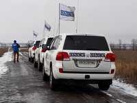 OSCE SMM records 106 ceasefire violations in Donbas over past weekend