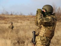 Two Ukrainian servicemen wounded in day in Donbas - JFO HQ