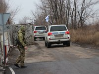 Ukrainian side in JCCC appeals to OSCE to establish causes of child's death in uncontrolled Oleksandrivske in Donbas