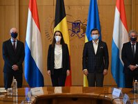 Foreign Ministers of Benelux countries express support for Ukraine's territorial integrity, sovereignty
