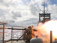 Ukrainian Navy conducts tactical maneuvers in Black Sea with combat exercises