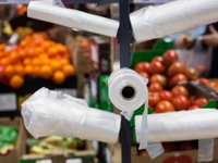 Zelensky signs law banning free distribution of plastic bags