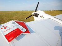 Nova Poshta tests delivery of parcel by drone from Kyiv to Kharkiv