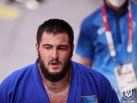 Ukrainian judoka Hammo take fifth place in over 100 kg weight category at Tokyo Olympics