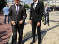 Hungarian FM arrives in Kyiv