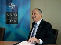 The decision for Ukraine and Georgia to join NATO is there and it has been reconfirmed at the top political level in the Alliance - NATO Deputy Secretary General