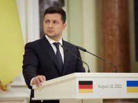 Ukraine, Germany, and France should have consolidated position on Donbas settlement – Ukrainian president