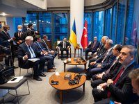 Zelensky, Erdogan discuss FTA, military-technical cooperation at meeting in NYC
