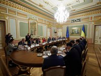 Ukraine, EU call on Russia to assume its responsibility for conflict in Donbas, re-establish ceasefire, meet Minsk agreements commitments – joint statement